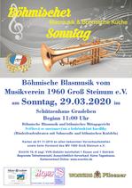 Eintrittskarte Böhmischer Sonntag