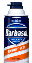 Barbasol Sensitive Cream Spary