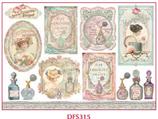Decoupage Reispapier / #DFS 315