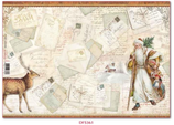 Decoupage Reispapier / #DFS 361