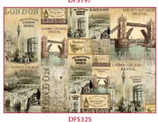 Decoupage Reispapier / #DFS 325