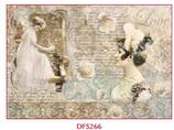 Decoupage Reispapier / #DFS 266
