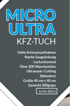 SET:  2 x Micro-Ultra KFZ-Tücher