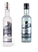 Wodka VOLK  (WOLF)  + Wodka VOLSHISA  (WÖLFIN) O,5L