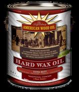 American Wood Oil Hartwachs-Öl, farblos, extra matt, 1 Liter