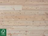 Sibirische Lärche Massivholzdielen, Natur, unbehandelt, FSC 100 %, 15x142x1980 mm, 2.25 m2 pro Packung