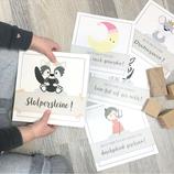 """Meilensteinkarten """"Stolpersteine"""""""