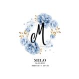 """Geburtsanzeige """"Milo"""""""