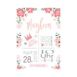 """Geburtsanzeige """"Mayleen"""""""