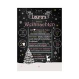 """Meilensteintafel """"Mein erstes Weihnachten"""" (Print)"""