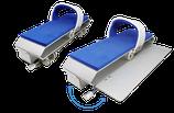 kit de 2 pédales à clapet double vitesse