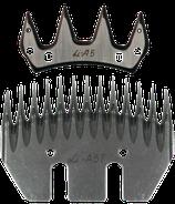 Lister Schermesser Messersatz LI A 57 Alpkakaschur