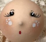 visi bambola in lycra dipinti 5 cm