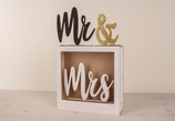 "Motivi di Legno ""Mr & Mrs"""