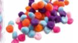 Pompon STAFIL 7461-981  10 mm- 70 pezzi colori assortiti
