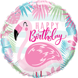 Birthday Pink Flamingo 45cm