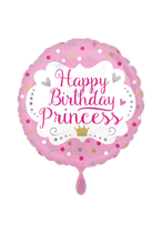 Happy Birthday Princess rosa 45cm