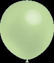 Balloonia  Luftballons, ca. 30cm Durchmesser,  Apfelgrün, 50 Stck.