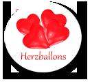 Herzluftballons ca. 30 cm Durchmesser in vielen Farben