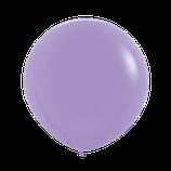 Riesenballon aus Latex Durchmesser 90cm, flieder-lila