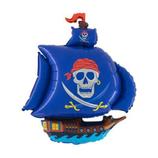 Folienballons Piratenschiff ca. 85x65 cm