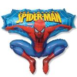 The Amazing Spider-Man– Luftballons - befüllt mit  Helium - beschwert mit einem Ballongewicht