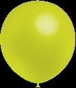 Balloonia  Luftballons, ca. 30cm Durchmesser, limonengruen, 50 Stck.