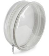 Trousse à éponges blanche diamètre 15 cmx4.5 cm