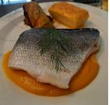 Filet de Daurade Royale, nage de carotte orange-cumin