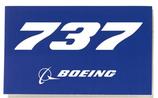737 Aufkleber