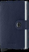 Secrid Miniwallet Veg Tanned Navy-Silver