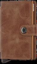 Secrid Miniwallet Vintage Cognac Rust