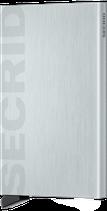 Secrid Cardprotector Laser Logo Brushed Silver
