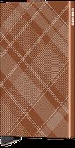 Secrid Cardprotector Laser Tartan Rust
