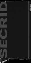 Secrid Cardprotector Laser Logo Black