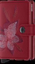 Secrid Miniwallet Stitch Rosso
