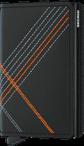 Secrid Slimwallet Stitch Linea Orange