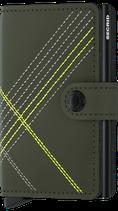 Secrid Miniwallet Stitch Linea Lime