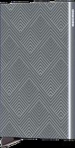 Secrid Cardprotector Laser Zigzag Titanium