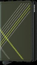 Secrid Slimwallet Stitch Linea Lime