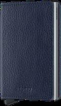 Secrid Slimwallet Veg Tanned Navy-Silver
