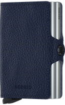 Secrid Twinwallet Veg Tanned Navy-Silver