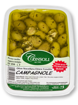 CAMPAGNOLE green crushed olives