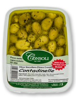 CONTADINELLE green crushed olives