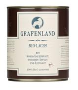 Grafenland Bio-Lachs mit Kokos-Sauerkraut, 400 gr.