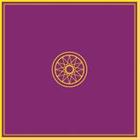 Tapis de jeu violet 80X80 cm Esotérisme