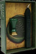 Coffret cire à cacheter naturelle & Sceau Celtique