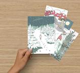 Flauseflocke Postkarten Set