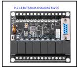PLC 12 entradas 8 salidas + Curso de PLC  básico