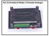 PLC 12 entradas 8 salidas + 2 entradas análogas+Curso de PLC Intermedio